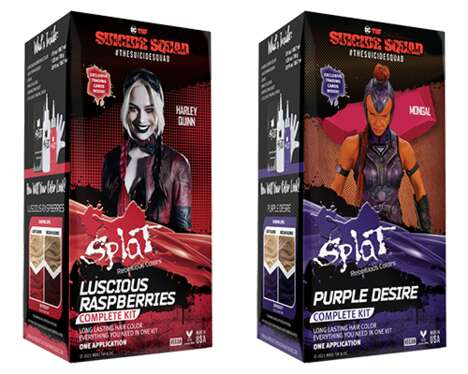 Cinematic Comic-Themed Hair Dyes