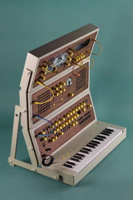Toolkit-Inspired Experimental Synthesizers