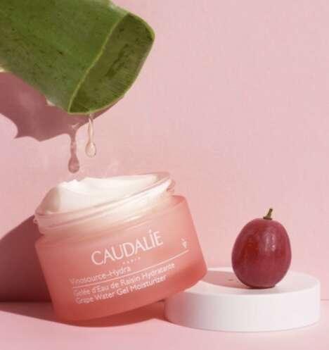 Grape Water-Powered Moisturizing Creams