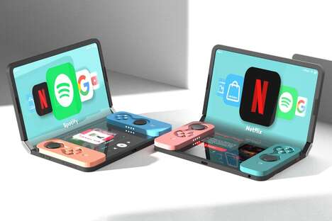 Folding Tablet Gaming Consoles