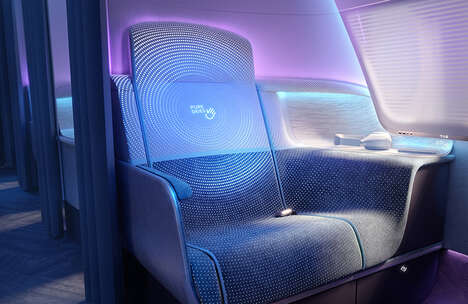Post-Pandemic Airplane Cabins