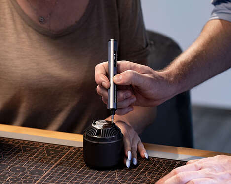 Motion-Controlled Maker Screwdrivers