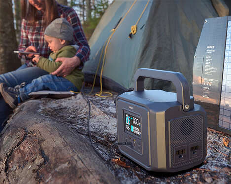 Off-Grid Portable Power Stations