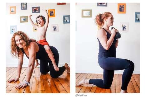 Moto-Inspired Yoga Leggings