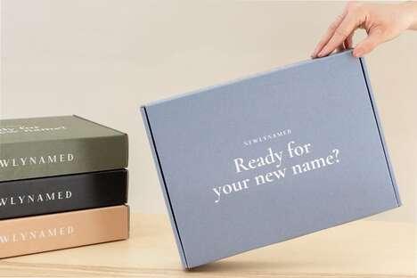 Personalized Name Change Kits