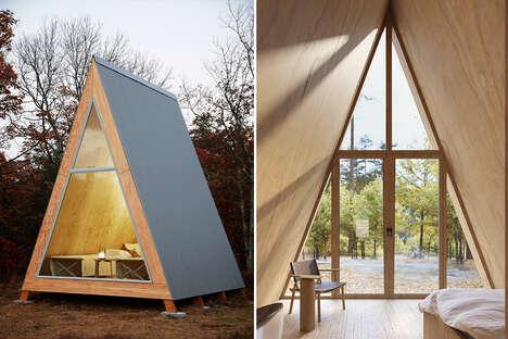 Flatpack A-Frame Cabin Kits