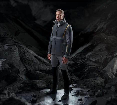 Tech-Enhanced Sailing Jackets