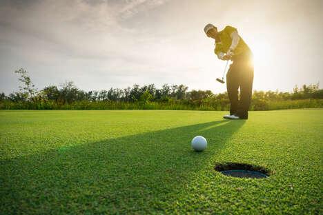 Deodorant-Branded Golf Initiatives