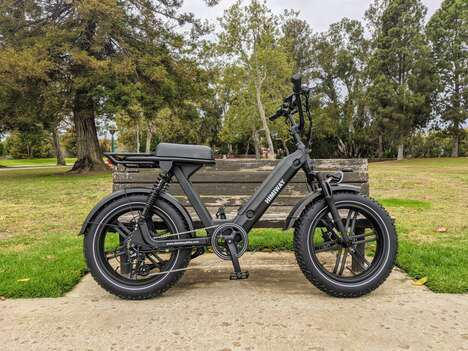 Daring Dual-Suspension Electric Bikes