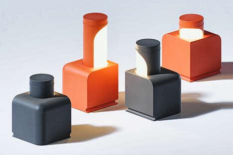 Interactive Pop-Up Modular Lamps