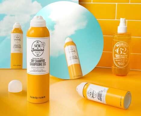Summery Dry Shampoos