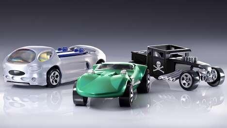 Virtual Toy Car Collectibles