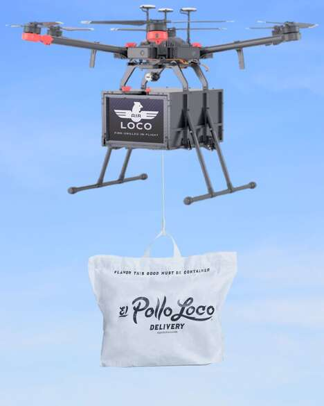 Grilled Chicken Delivery Drones