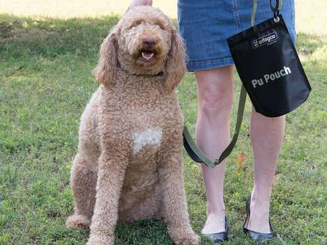 Waste-Holding Dog Leash Accessories