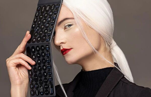 Folding Connected Keyboards