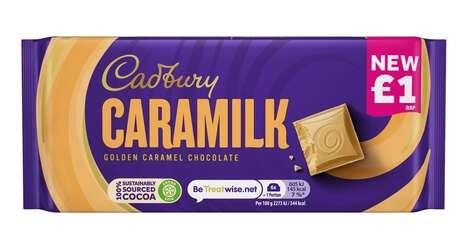 Golden Caramel Candy Bars