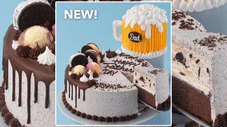 Dad-Celebrating Ice Cream Cakes