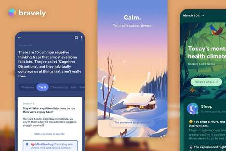 Soothing Digital Support Apps