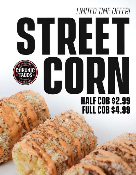 Saucy Street Corn Offerings