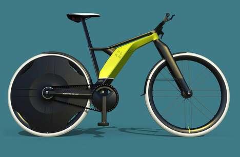 Sleek Modular Electric Bikes