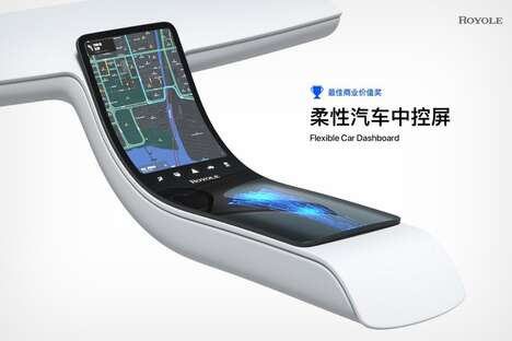Malleable Vehicle Infotainment Displays