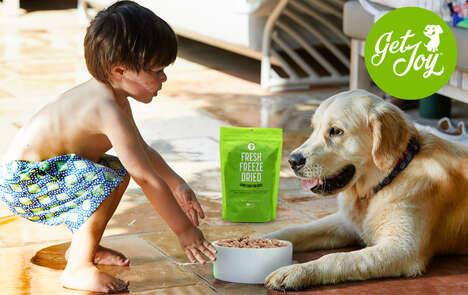 Travel-Ready Freeze-Dried Dog Foods
