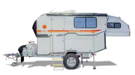 Customizable Off-Road Camping Trailers