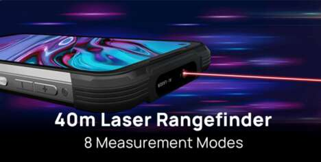 Rugged Laser-Equipped Phones