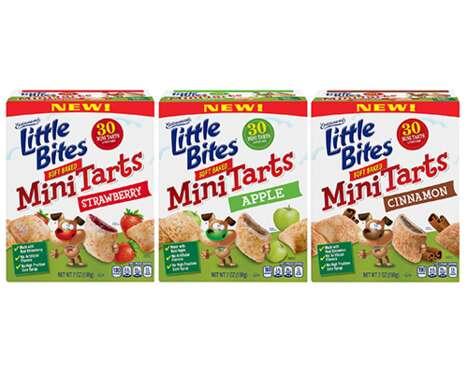 Soft-Baked Tart Snacks