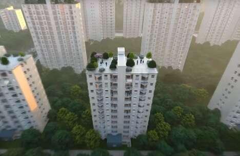 Rapidly Assembled Modular Apartments