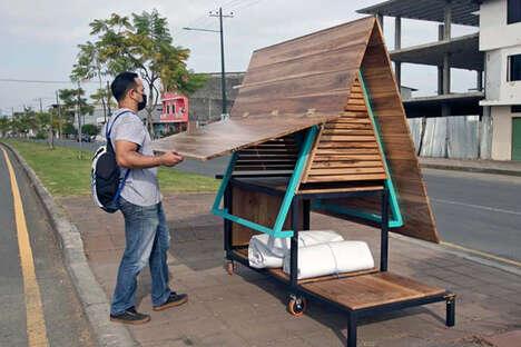 Modular Kiosk Shelters