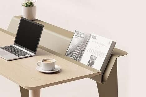 Piano-Inspired Minimalist Workstations