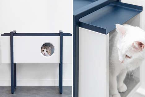 Playful Design-Conscious Pet Furniture