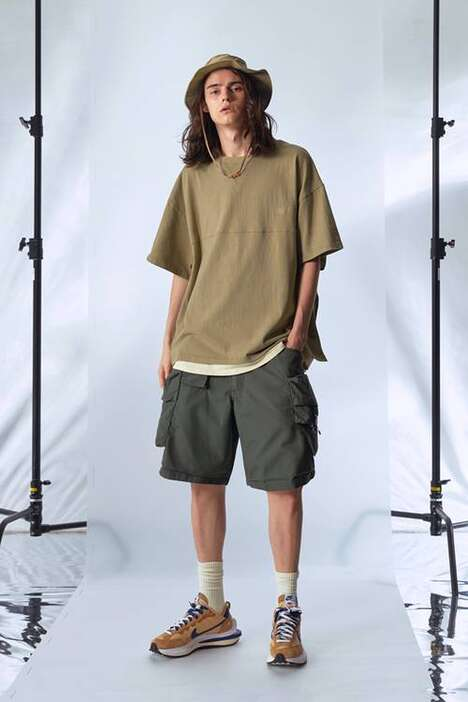 Functional Baggy Utility Streetwear