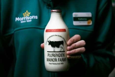 Milk Bottle Recycling Initiatives