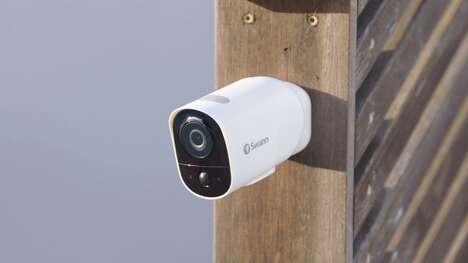Weatherproof Mobile Security Cameras