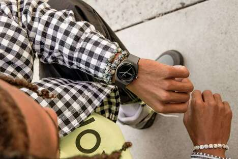 Recycled Solar-Powered Timepieces