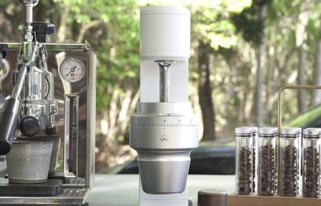 At-Home Barista Coffee Grinders