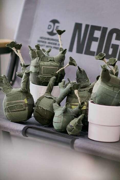 Patchwork Militaristic Plushy Capsules