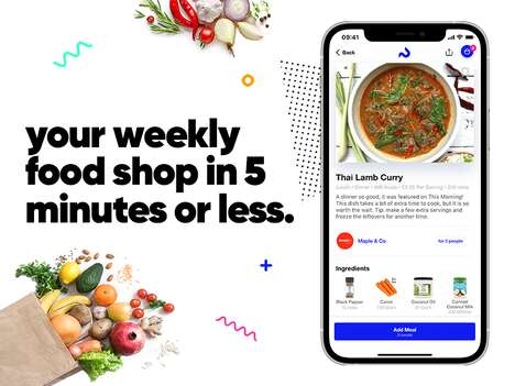 Recipe-Based Food Shopping Apps