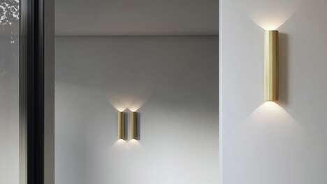 Geometric Metallic Lighting Collections