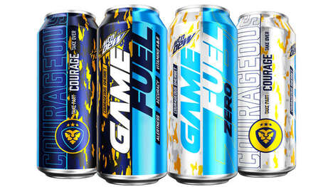 Rainbow Sherbet-Flavored Energy Drinks