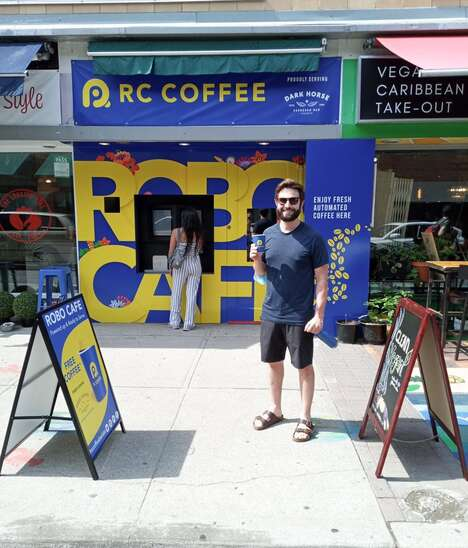Autonomous Robot Cafes