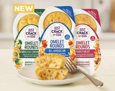 Prepackaged Breakfast Omelets