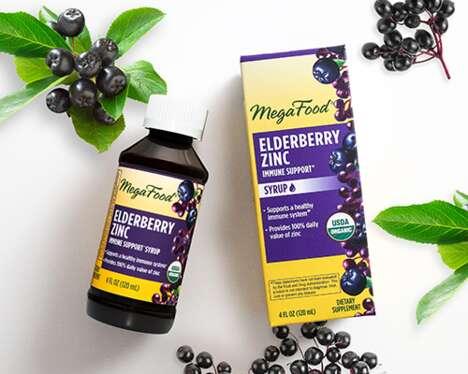 Immunity Boosting Elderberry Syrups