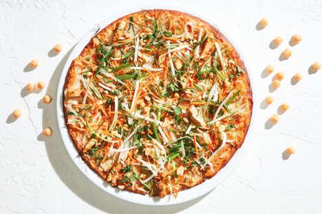 Gluten-Free Chickpea Pizza Crusts