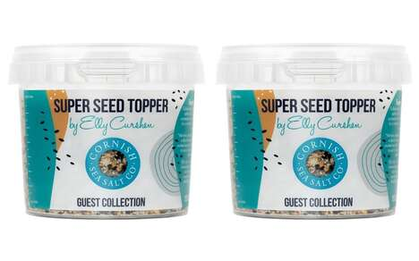 Seed-Infused Seasoning Salts
