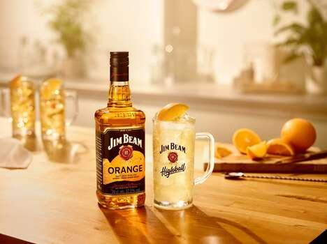 Bourbon-Infused Orange Liqueurs