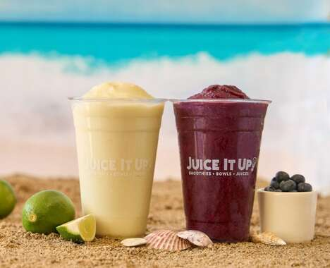 Summery Limeade Smoothies