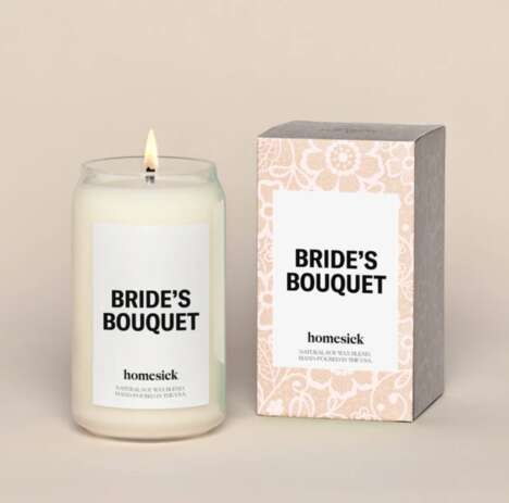 Nuptial-Inspired Candle Fragrances